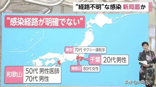日本告急!一天内多地感染!疫情或处于爆发期!