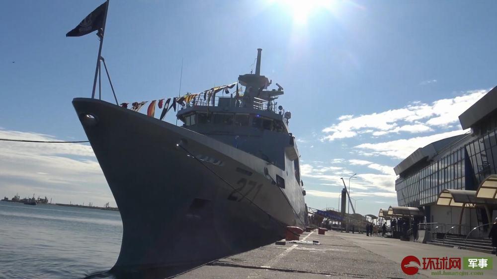 巴基斯坦巨资引进欧洲巡逻舰 交付时却连舰炮都没有