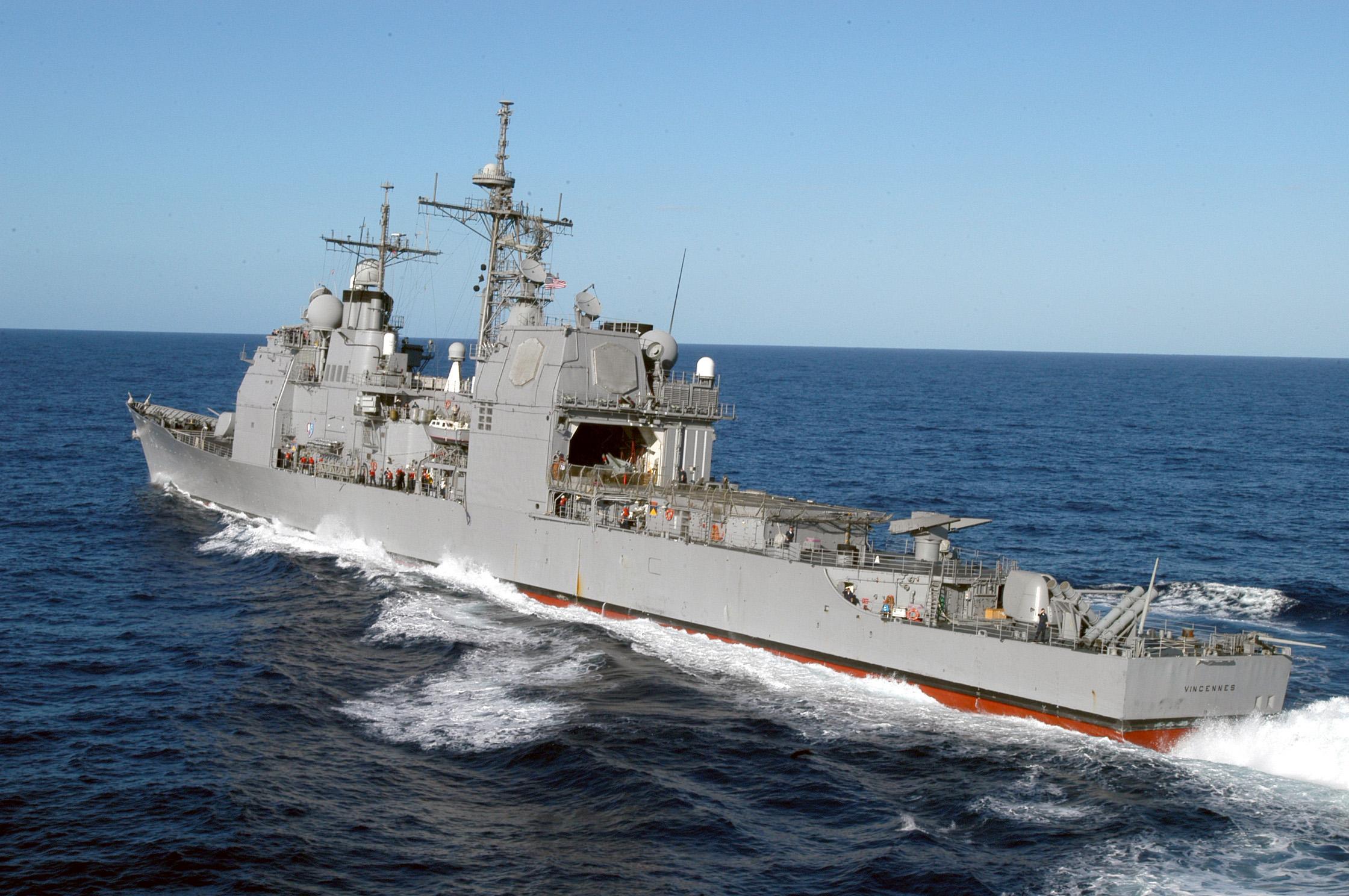 分析了055舰作战能力后 美军决定打造重型巡洋舰应对