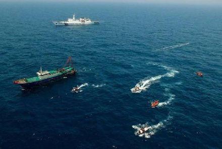 黄海传来警报!美军舰在山东急转弯,中方:全力反击