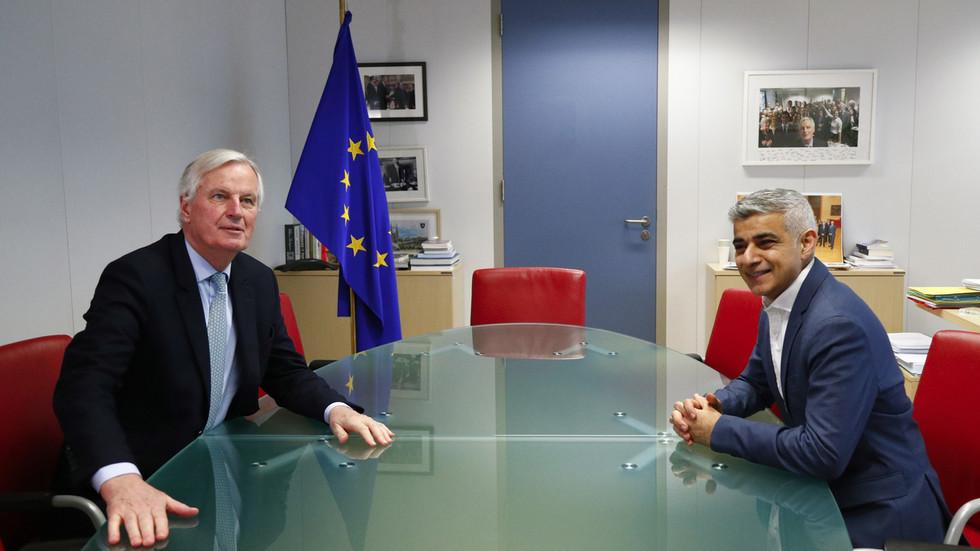 """伦敦市长建议欧盟保留英国留欧派的""""准公民身份"""""""
