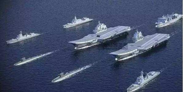 我军双航母一南一北镇守海岸线 战略布局已初具雏形