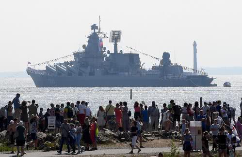 土耳其叙利亚打得火热,两艘携带远程巡航导弹的俄军舰前往地中海