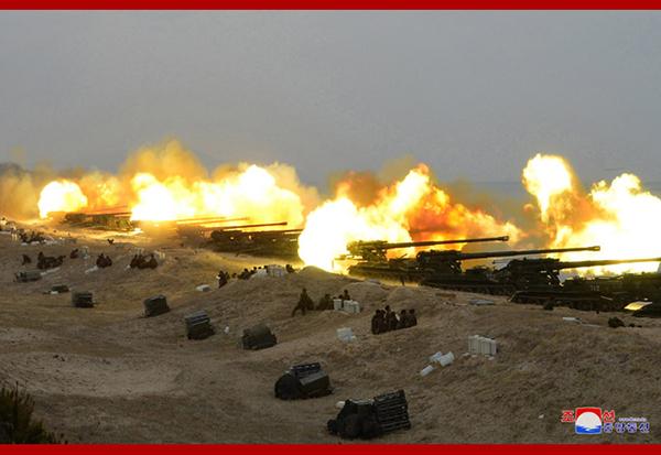 """疫情之下韩美""""偃旗息鼓"""",朝鲜为何加紧训练火力打击"""