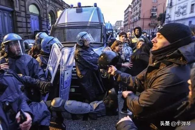 麻烦大了,意大利监狱暴动了