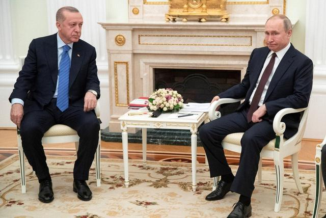 """土叙打得火热,普京果然是个狠角色,一出手就击中土耳其""""三寸"""""""