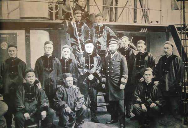 邓世昌遗事三探:曾为俄国皇太子护航,率领三舰访问长崎