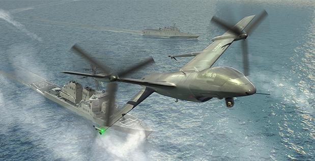 F-35B加上这种无人机,美军两栖打击群可拥有接近航母群实力