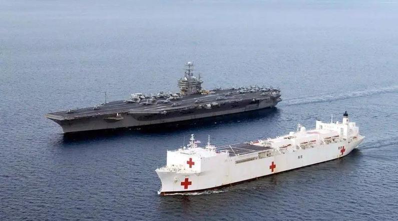 一夜之间美国出动35艘医疗船,搭建216座火神山?