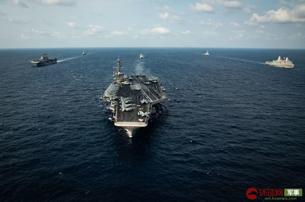 美国航母10天前还带队在南海秀肌肉 如今水兵纷纷感染惨遭殃