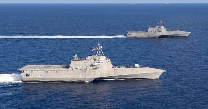 """中国海军成功""""逼走""""美军濒海战斗舰,美挥泪砍掉4艘先进战舰"""