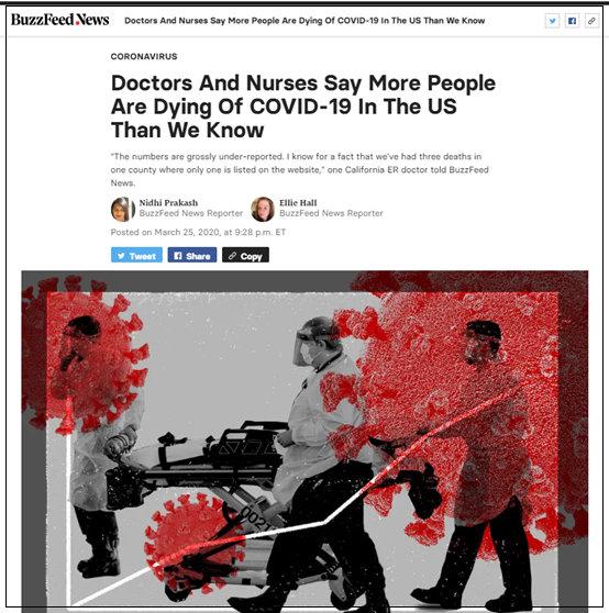 美国确诊数超过中国全球第一!医疗人士爆实际死亡远高于统计