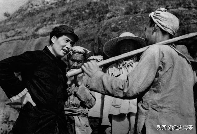 """延安农民:""""为甚不让雷公劈死毛泽东!""""毛泽东听后这样说"""