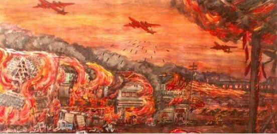 这座日本大城市并未遭受美军原子弹,却损毁的更加严重