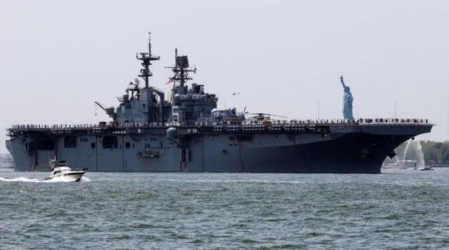 """美陆战队被迫将大量对华攻击舰将闲置,可能沦为""""加油站"""""""