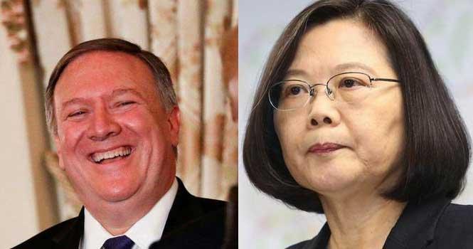 """猖狂!""""台独""""向美国摇尾乞怜,蓬佩奥:台湾是美国的真朋友"""