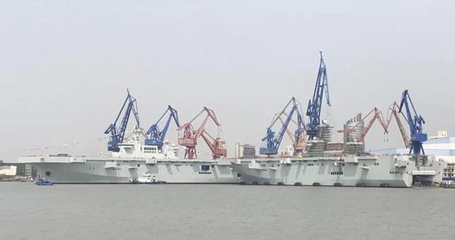 """中国海军71周年的""""礼物""""!专为""""武统""""定制?"""