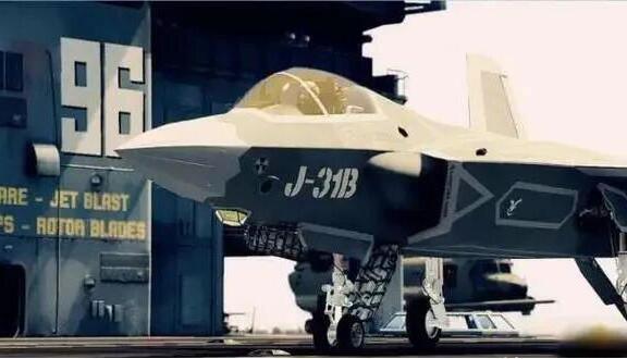 沉寂许久的歼31再亮相,未来有我国下一代舰载机或许就是它