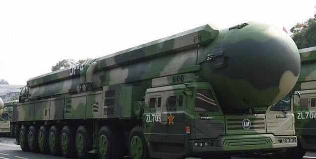 东风41洲际导弹,一枚可让纽约790平方公里面积的土地化为虚无