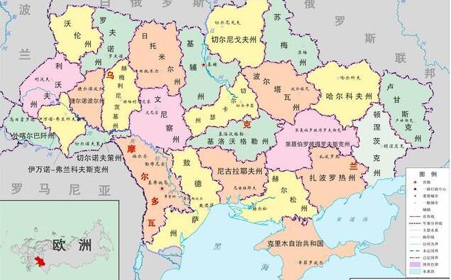 拥抱西方必死无疑?俄罗斯点名乌克兰,或将出现二次分裂