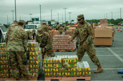 美国民警卫队被强制要求6月24日结束抗疫任务