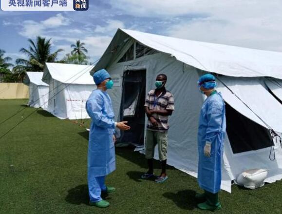 千里驰援,全国援圣普医疗队助力建设方舱医院 分享全国经验