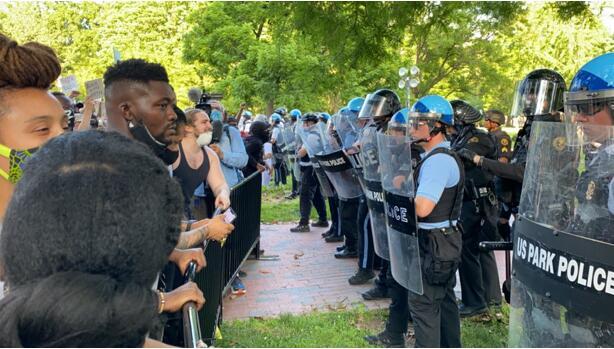 快讯!华盛顿特区国民警卫队被动员保卫白宫!