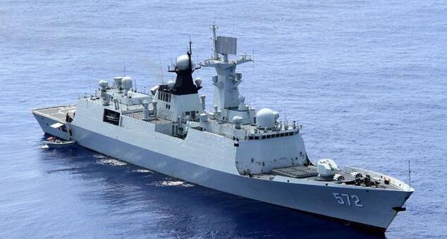 """""""河北舰队"""":拥有各型驱护舰6艘,主力是1艘051C和2艘054A"""