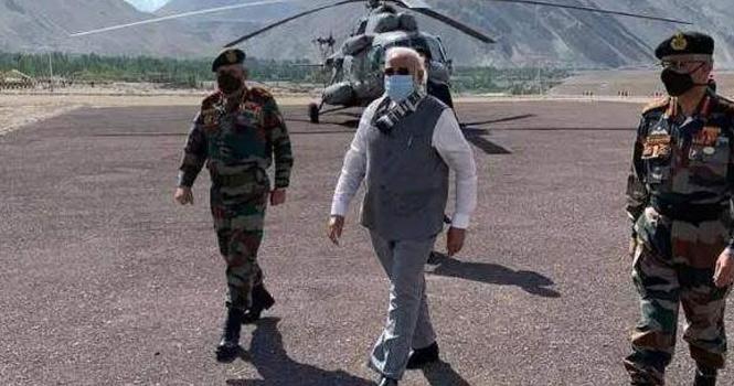 莫迪突访中印边境,外交部回应:不希望印方把局势搞复杂