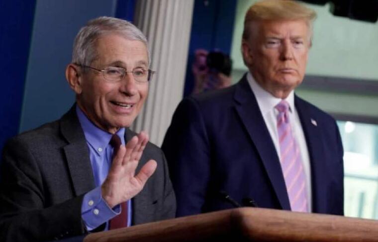 """昔日""""美国抗疫队长""""福奇,如今遭白宫一通嘲讽!"""