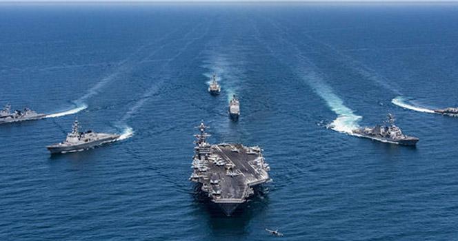 一切尽在掌握之中:澳小航母刚进入南海,就遭中国战舰拦截