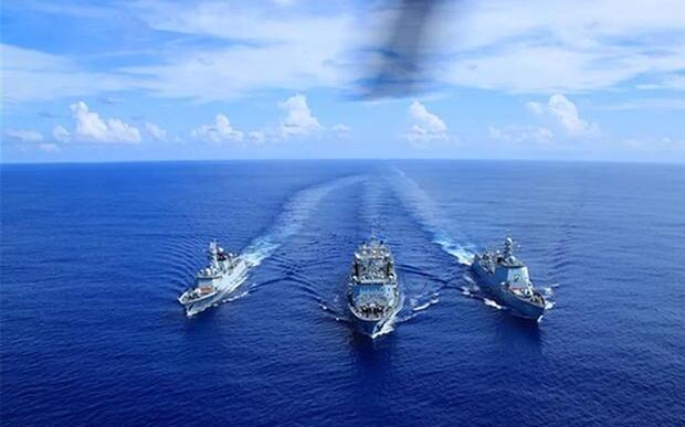 美媒:中国已从绿水海军过渡到蓝水海军,30年发展已彻底革新