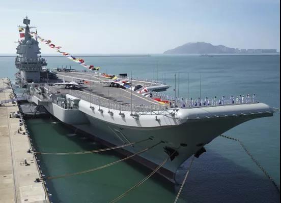 原来,台军害怕被解放军航母这样冲击!
