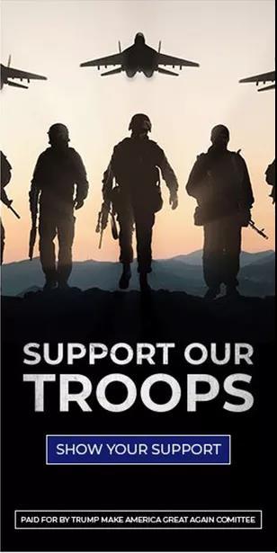 """特朗普团队""""支持美军""""的广告里,出镜的是俄战机!"""