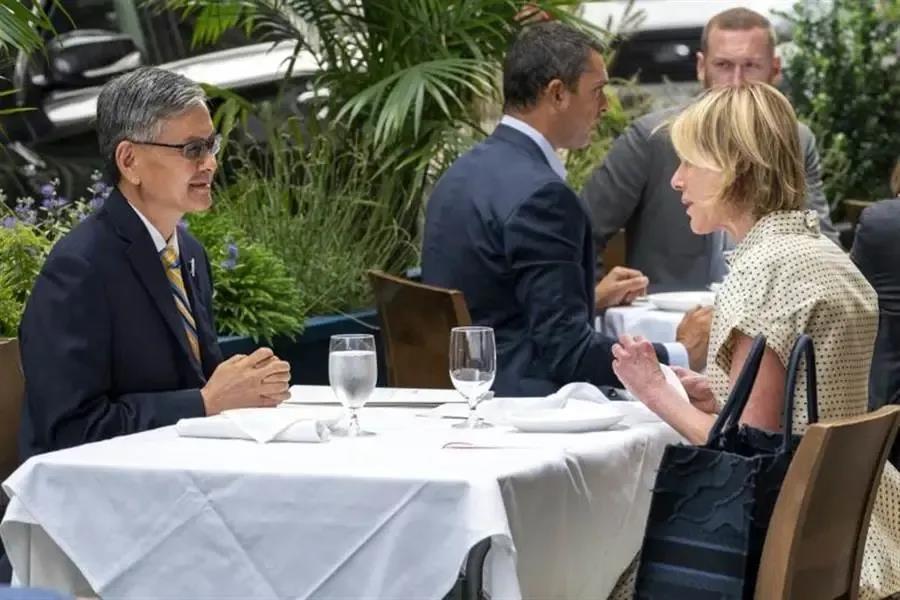 美国副国务卿访台,解放台湾的窗口已经来临