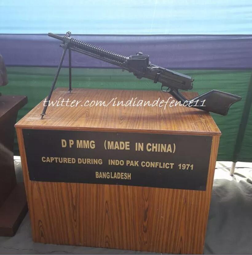印度缴获巴军中国造歪把子机枪,这到底是什么情况?