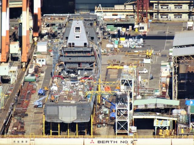 日本下一代护卫舰即将下水,美媒:可将驱逐舰腾出来专心对付中朝