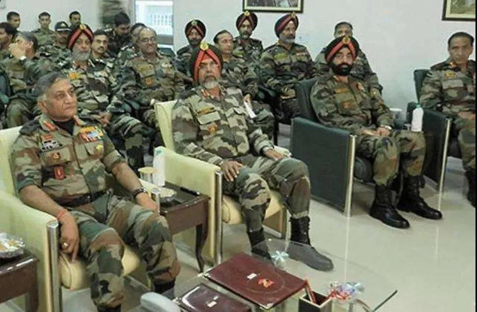 冬季攻势,还不死心,印军第14军军长被撤,对华鹰派中将接任