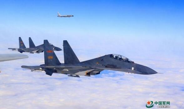 台媒;解放军战机不仅飞过海峡中线 而且这次更靠里