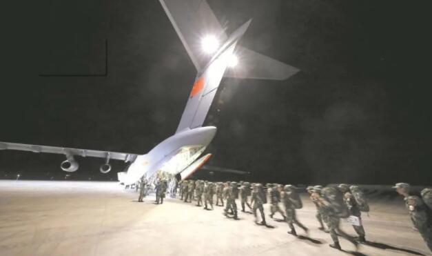 """我军参加""""高加索-2020""""战略演习官兵全部抵达预定地域!"""