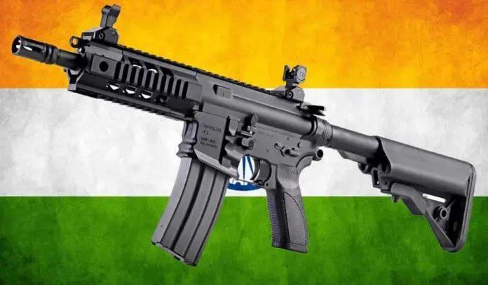 """雄心壮志?印度引进土豪国武器,生产国产""""HK416"""""""