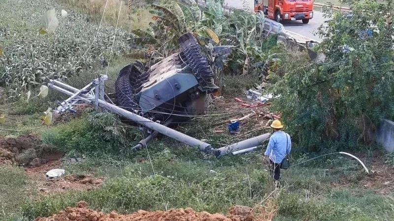 台湾撞电线杆翻车的坦克,源自被志愿军击败撤退时撞死的美国将军