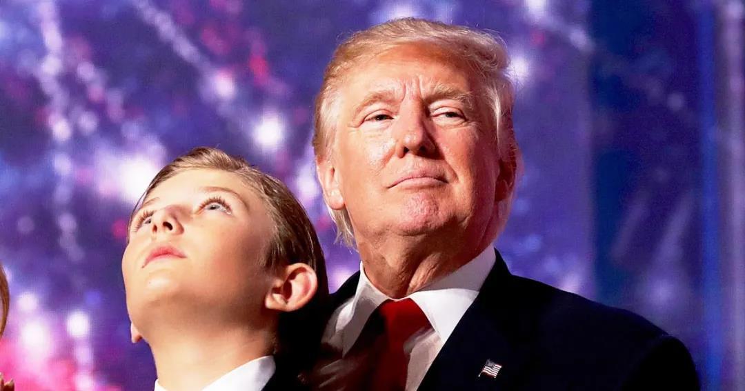 连感染新冠都成了父亲的宣传工具 特朗普家的小儿子 活得到底多憋屈?