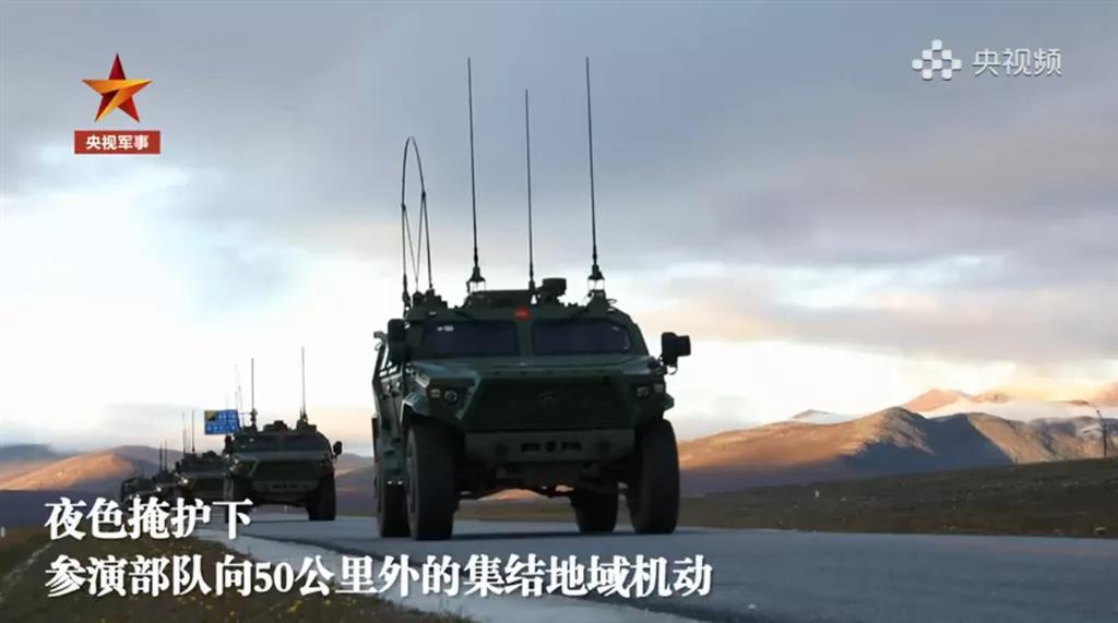 """西藏轻高机旅""""秀肌肉"""" :90%新装备!新型火箭炮首次亮相……"""
