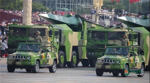 """台媒炒作解放军在东南沿海部署""""东风—17"""" 称其可威慑美国航母"""