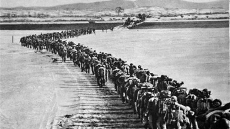 """如果70年前不主动出击 可能中国现在已被插上""""三把尖刀"""""""