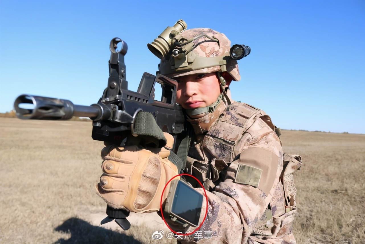 美国陆军都还在测试阶段,我军单兵信息化系统就已正式装备?