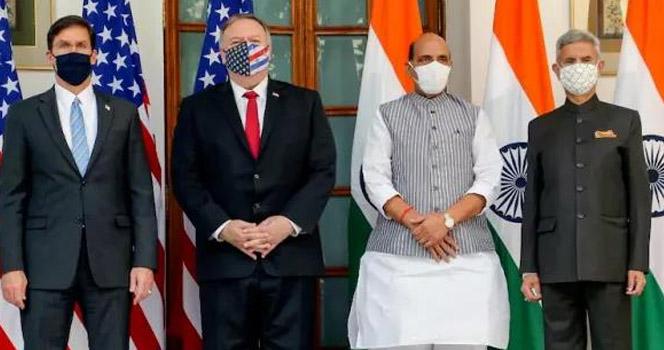 结盟印度,武装台湾,美国对华两线夹击,中国该亮剑了