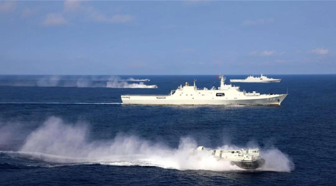 统一指日可待?官媒密集曝光我军两栖作战利器 国产气垫船可高速投送4辆坦克