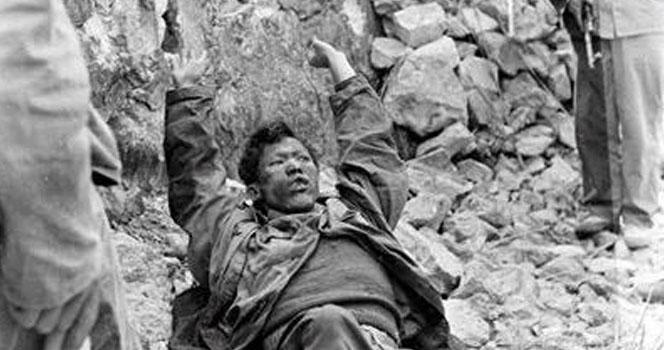 中国爆破越南堡垒:12吨炸药2吨汽油干掉800越军仅1人活命